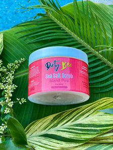 Island Pink Sea Salt Scrub