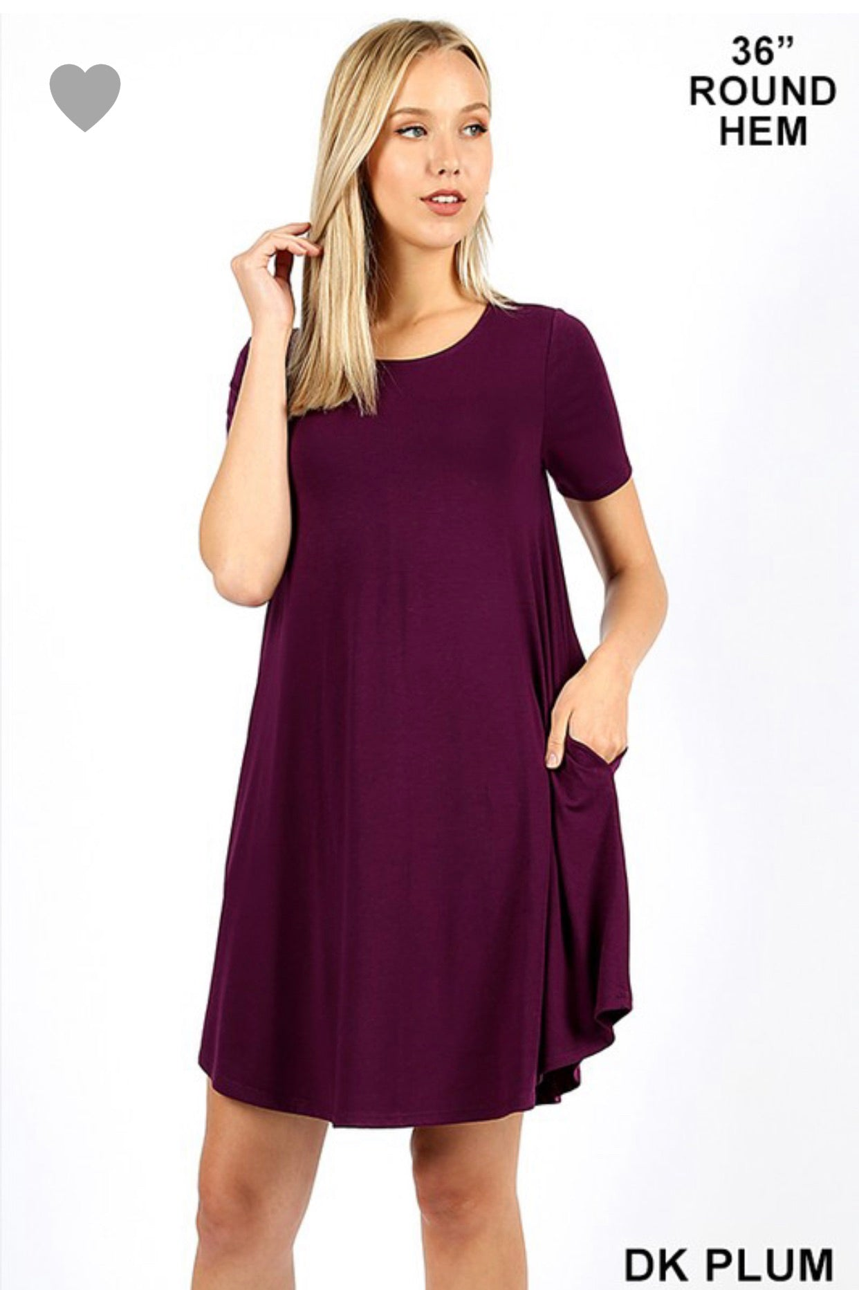 Spring has Sprung Dress Dark Plum - Crowned Boutique