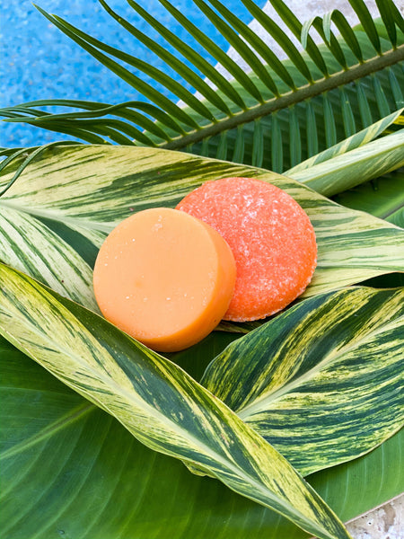 Orange Citrus Shampoo Bar