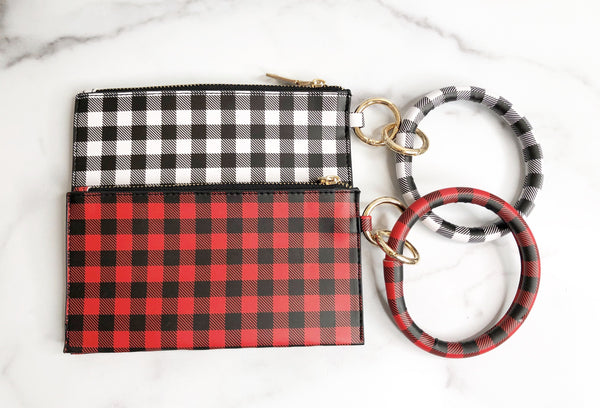 Carly Bracelet Keychain and Wristlet