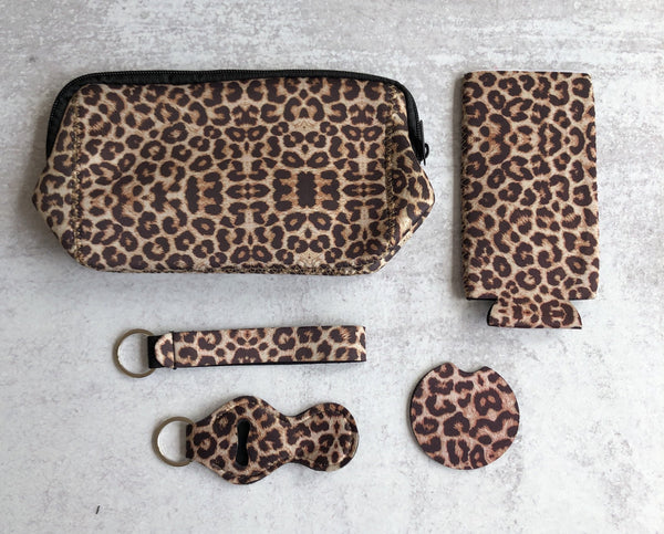 Printed Neoprene Collection: Leopard