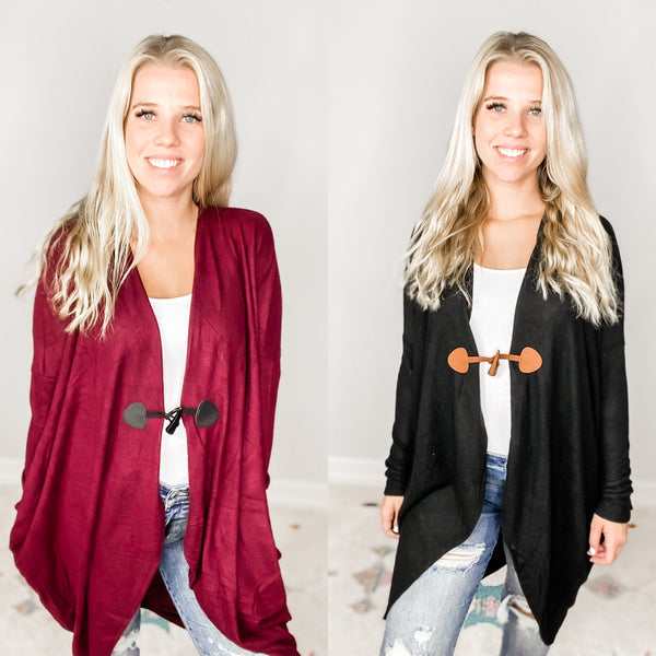 Cozy Cocoon Cardigan - Crowned Boutique