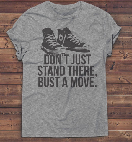 Bust A Move Tee - Crowned Boutique