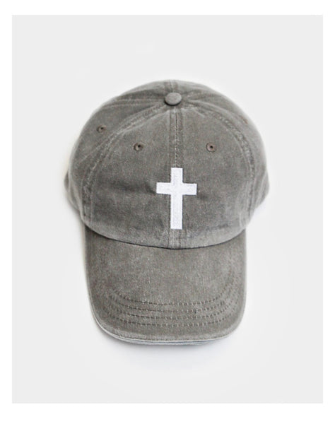 Cross Baseball Cap - Crowned Boutique