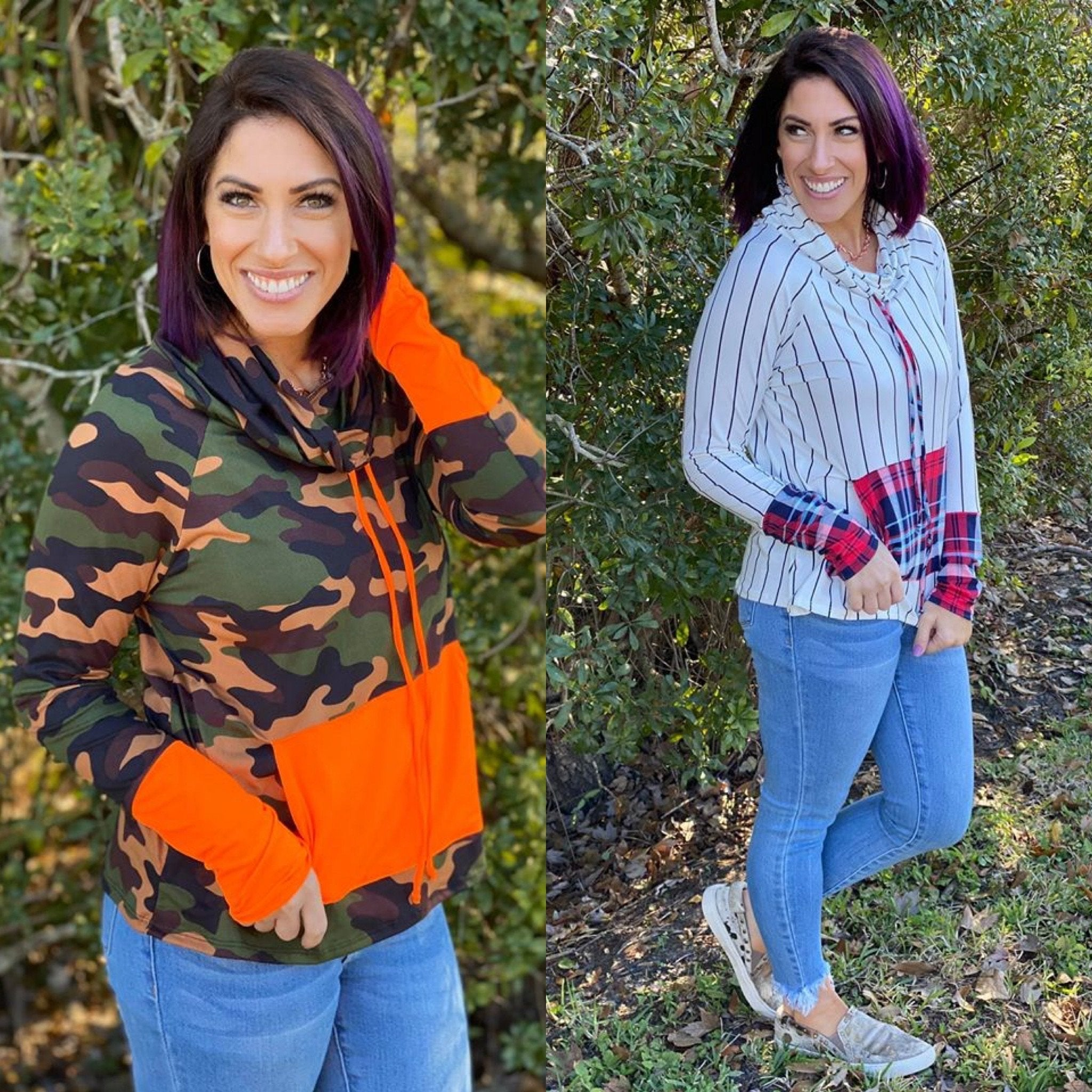 Cowl Neck Pullover - Crowned Boutique