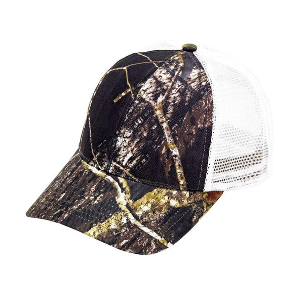 Woods Trucker Hat - Crowned Boutique