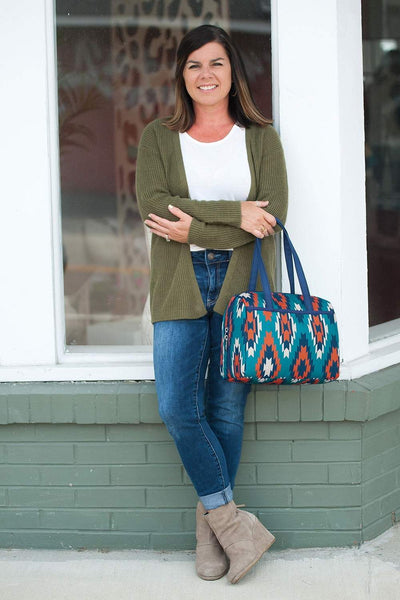 Sierra Lunch Tote - Crowned Boutique