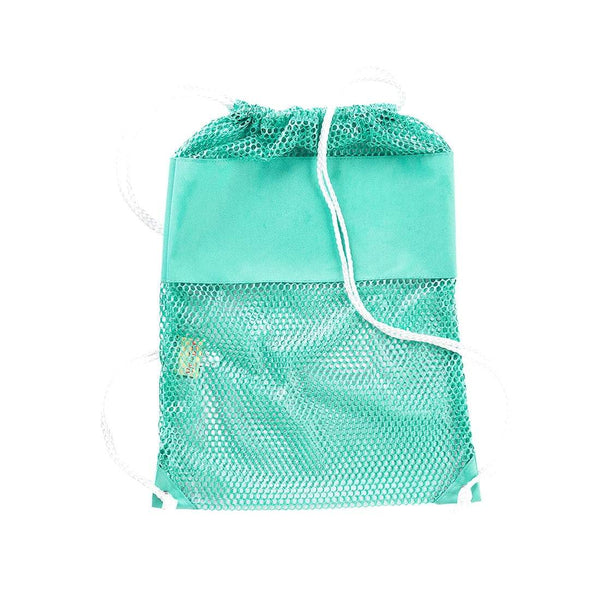 Mint Mesh Backpack