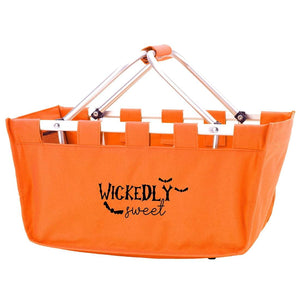 Wickedly Sweet Orange Market Tote