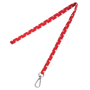 Red Dot Lanyard - Crowned Boutique