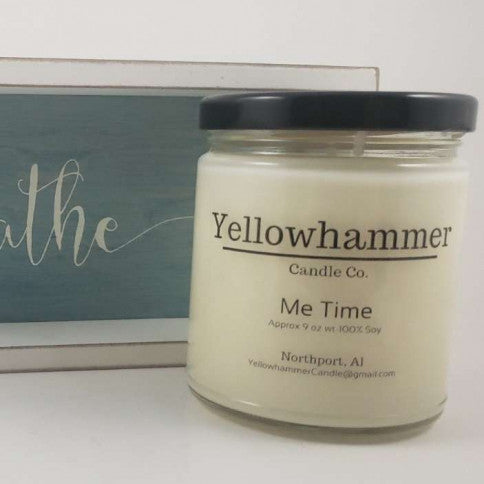 Yellowhammer Candle Co. Me Time - Crowned Boutique