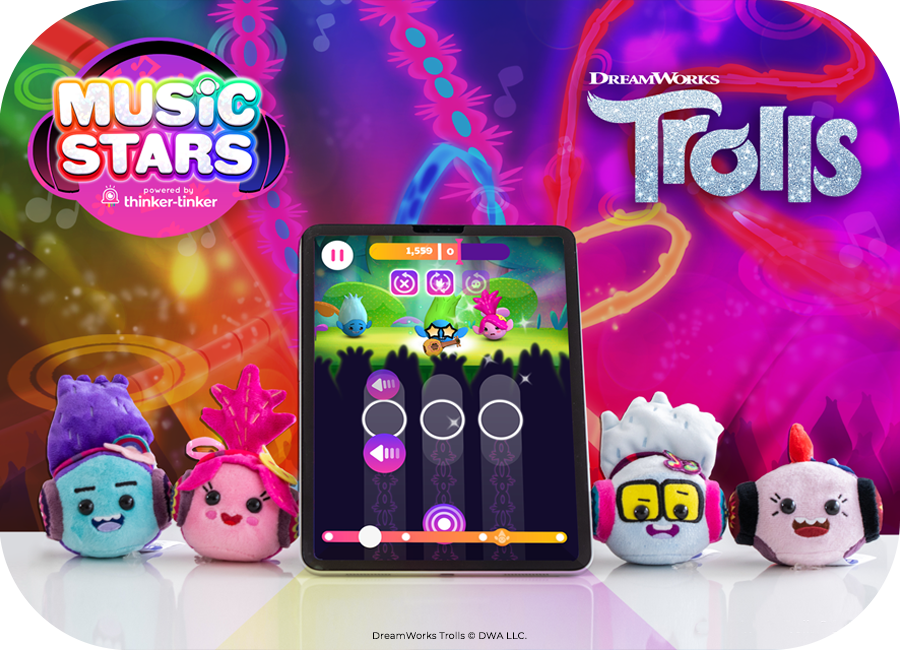 Thinker-Tinker To Launch Trolls Music Stars
