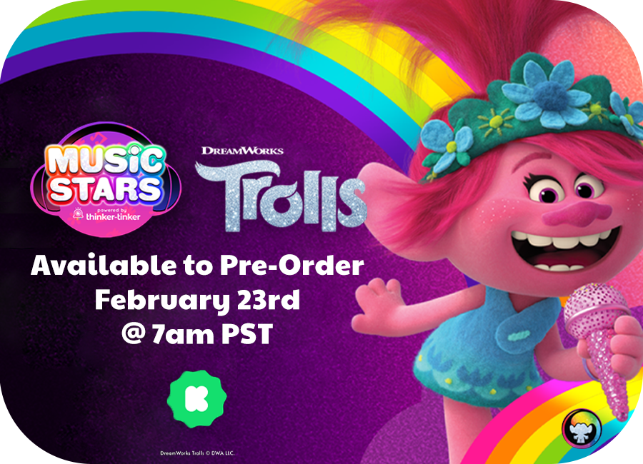 Trolls Music Stars Coming to Kickstarter 2/23!