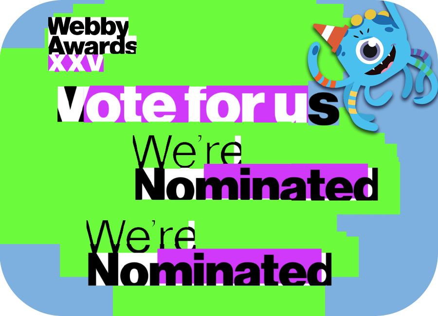 Octobo lands nomination for the Webby Awards! 🎉