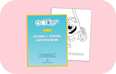 Octobo Coloring Book (Vol.1) – Octobo and Friends!