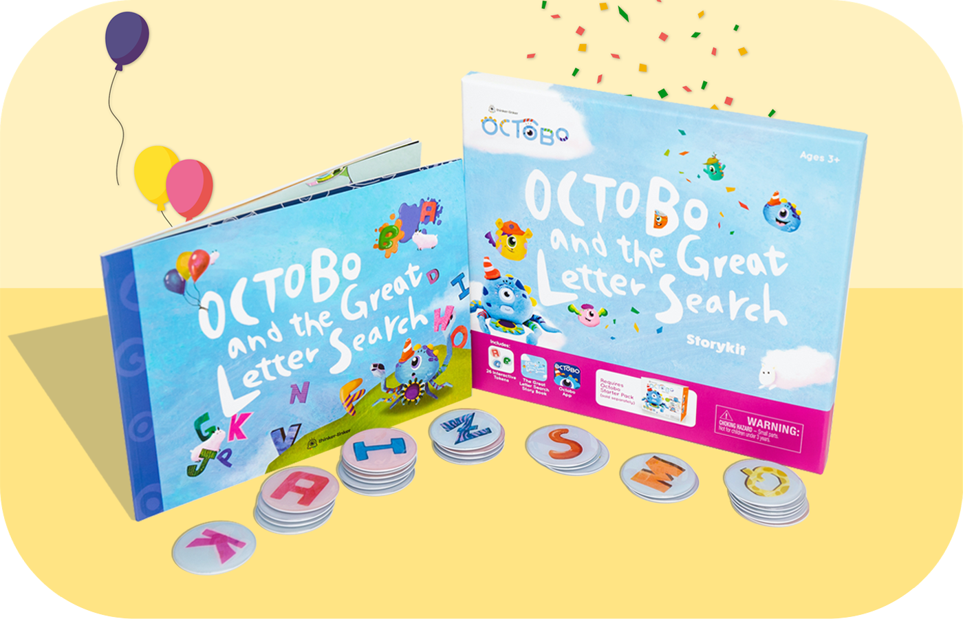 Octobo and The Great Letter Search Storykit (TW)