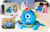 Octobo, the Tech Toy That Teaches. A smart plush robot toy for kids that focuses on learning through play through educational play kits that include educational storybooks and interactive tokens for toddlers and kids ages 0-7 years old.