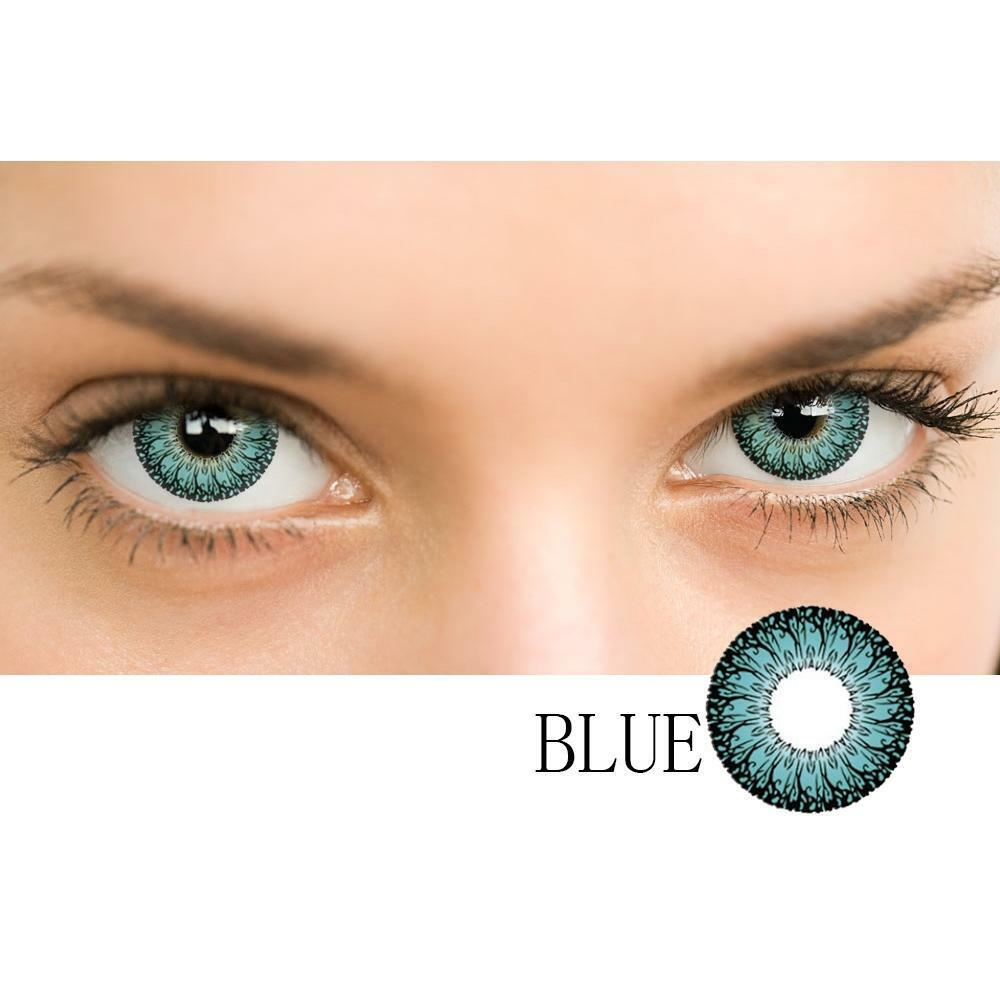 Amazing Colored Contact Lenses - fashionniste