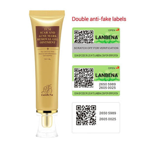 LANBENA Acne Scar Removal Cream Skin Repair Face Cream Acne Spots Acne Treatment Blackhead Whitening Cream Stretch Marks