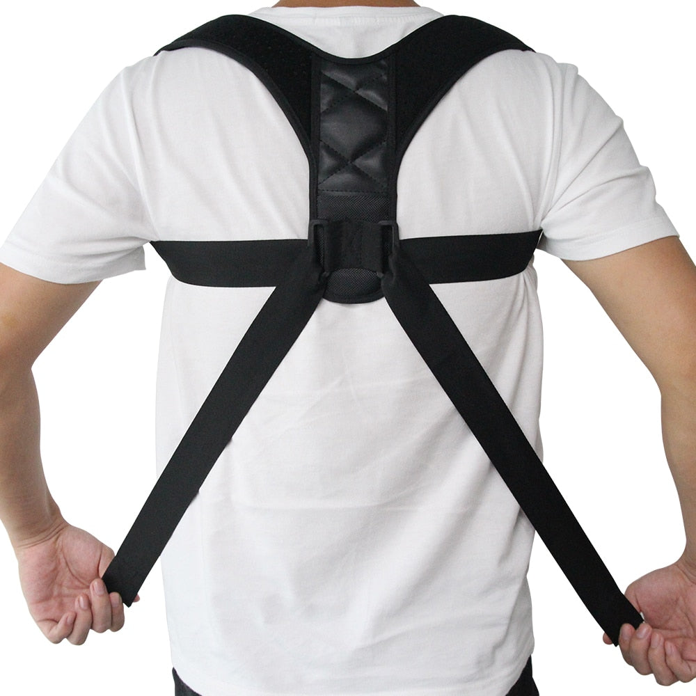Adjustable Back Posture Corrector - fashionniste