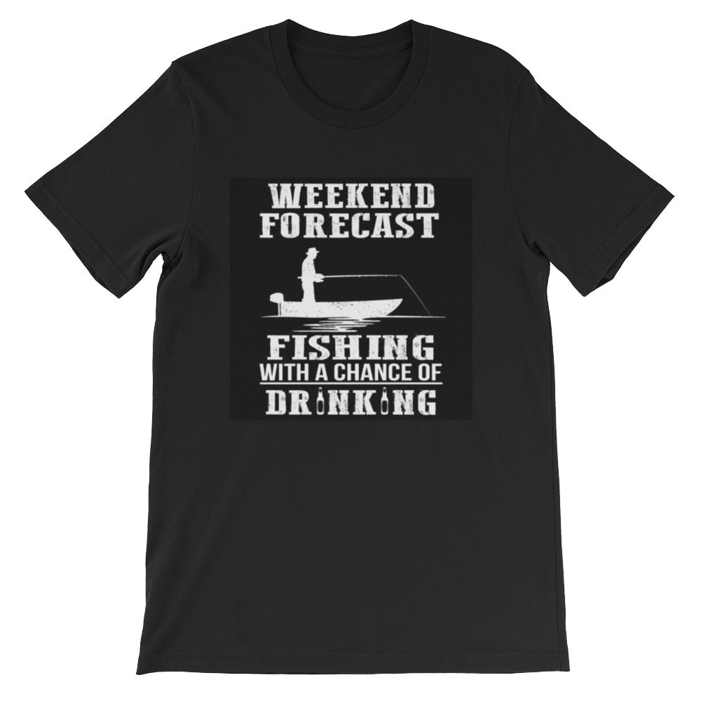 Short-Sleeve Weekend Fishing T-Shirt - fashionniste