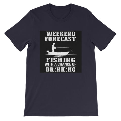 Image of Short-Sleeve Weekend Fishing T-Shirt - fashionniste
