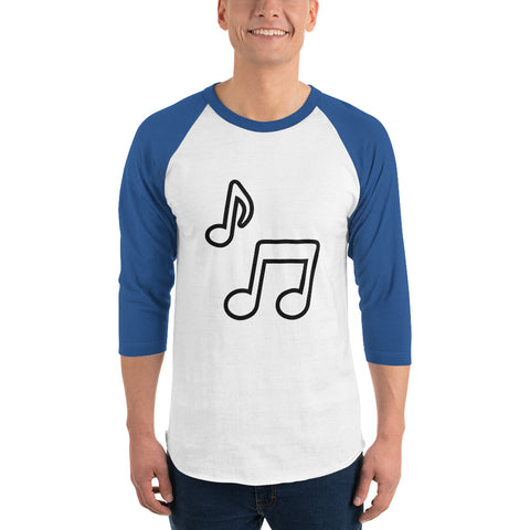 Image of 3/4 sleeve raglan shirt - fashionniste