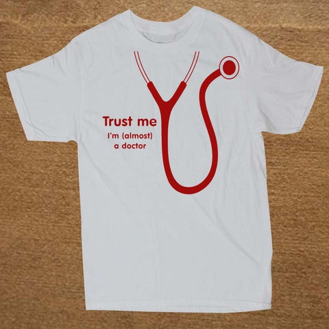 Image of Almost A Doctor Party  Funny T Shirt - fashionniste