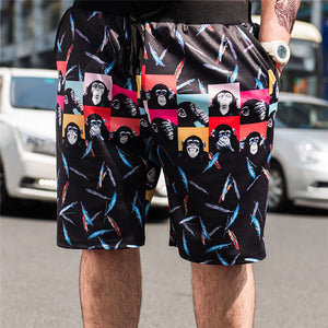 Summer Fashion Print Shorts