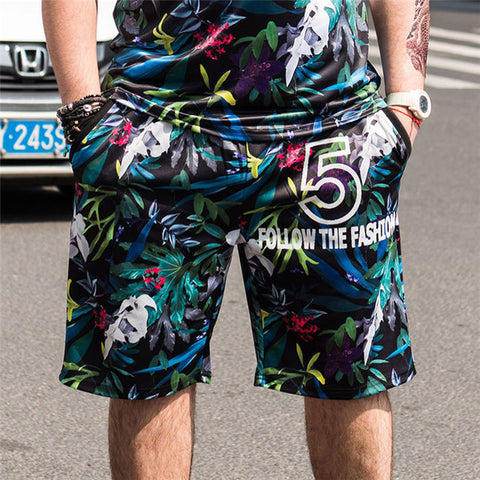 Summer Fashion Print Shorts - fashionniste