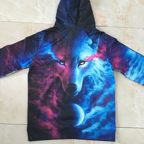 Image of Wolf Hoodies Sweatshirts