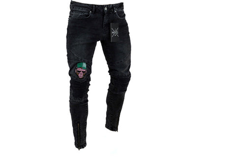 Image of Men's Stretchy Ripped Jeans - fashionniste