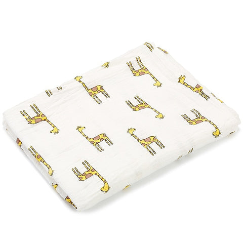 Newborn Blankets Soft Muslin 100% Cotton - fashionniste