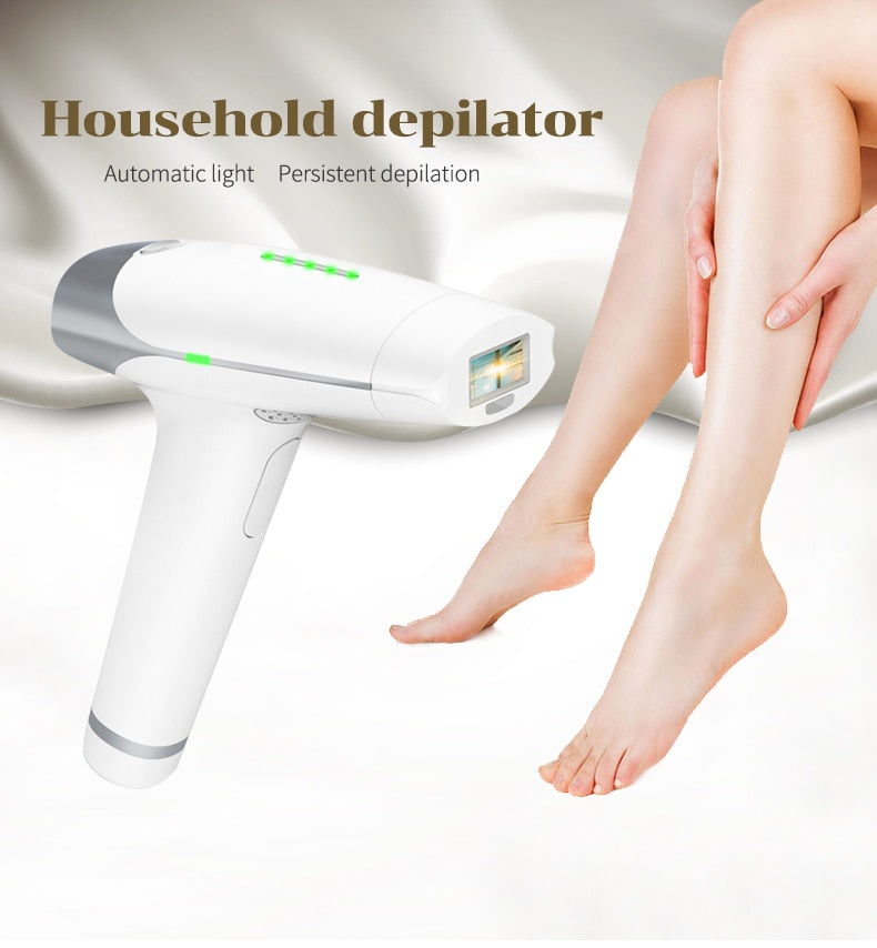At Home Laser Hair Removal Machine Laser 400,000 Flashes Hair Removal - fashionniste