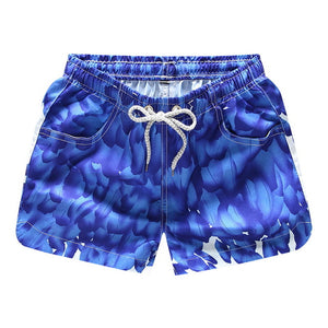 Men's Beach short Printed board