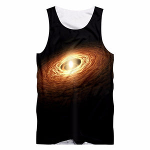 Galaxy Space Tank Tops