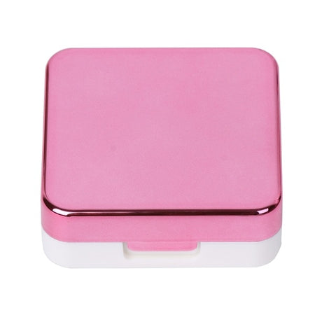Contact Storage Mirror Containers Holder - fashionniste