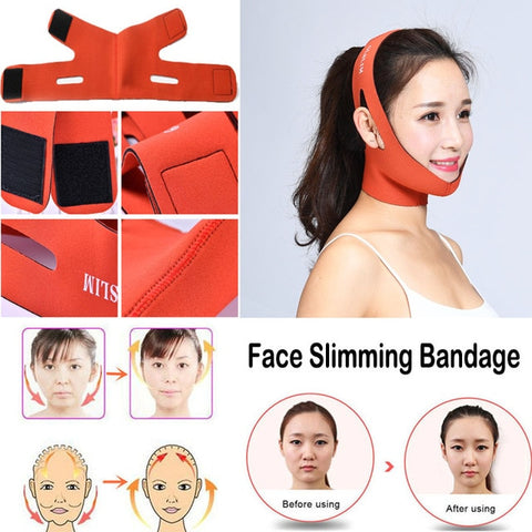 Image of Face Lift Double Chin Skin Thin Face Care Belt Beauty Kit - fashionniste