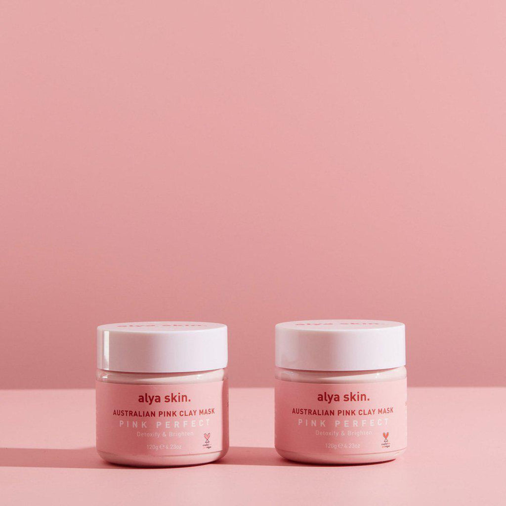 Alya Skin Pink Clay Mask - TWIN PACK (120g)