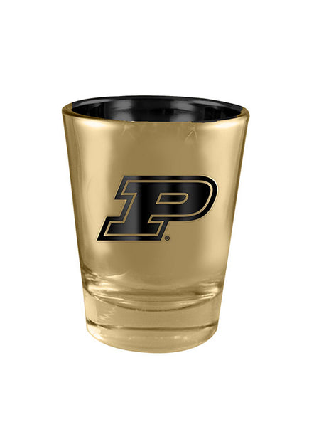 Purdue Luster 2 Oz. Shot Glass, Click to See Larger Image