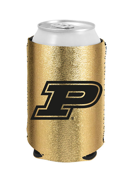 Purdue Sparkle Collapsible Can Cooler, Click to See Larger Image