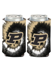 Purdue Tie Dye Collapsible Can Cooler