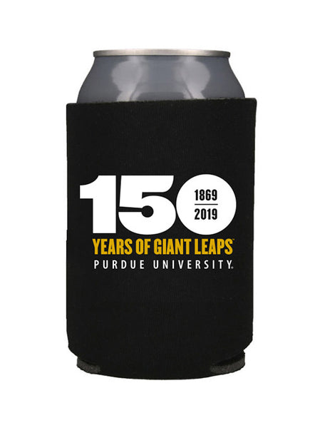 Purdue 150th Anniversary Collapsible Can Cooler