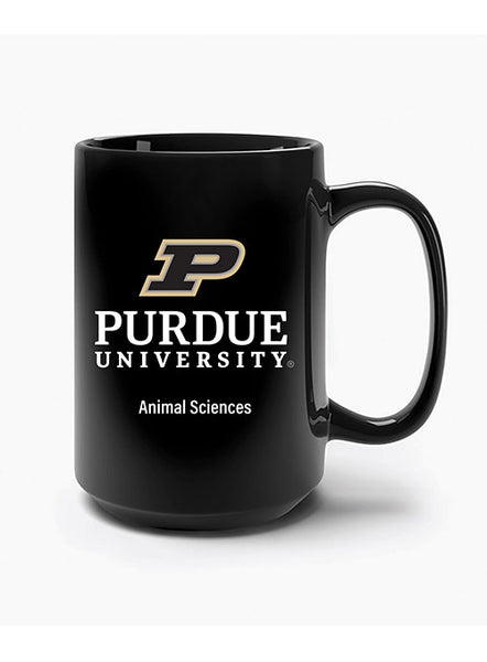 Purdue Animal Sciences Mug, Click to See Larger Image