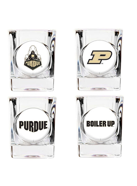 Purdue 4-Piece 2 Oz. Shot Glass Set, Click to See Larger Image