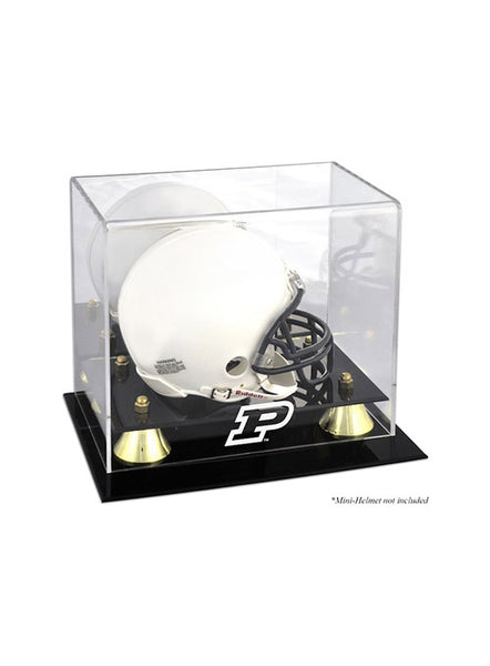 Purdue Deluxe Mini Helmet Case, Click to See Larger Image
