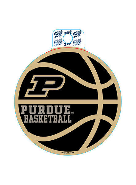 Purdue Basketball Decal, Click to See Larger Image