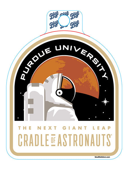 Purdue Mars Mission Decal, Click to See Larger Image