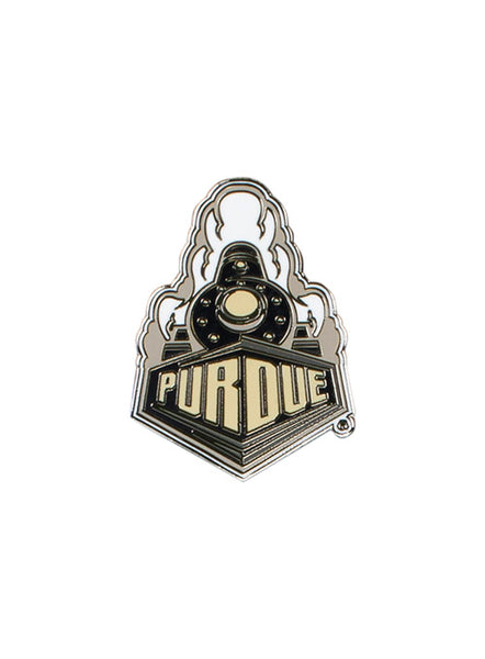 Purdue Train Hatpin, Click to See Larger Image