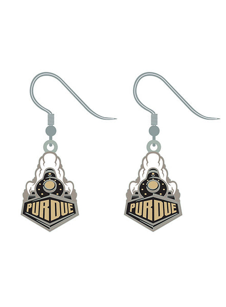 Purdue Dangle Earrings, Click to See Larger Image